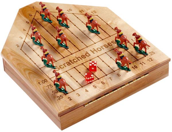 Horse Racing Game Olde Master Originals Mesmerizing Wooden Horse Racing Game